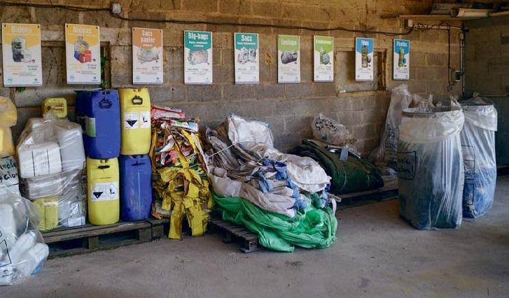 Collecte des déchets agricole